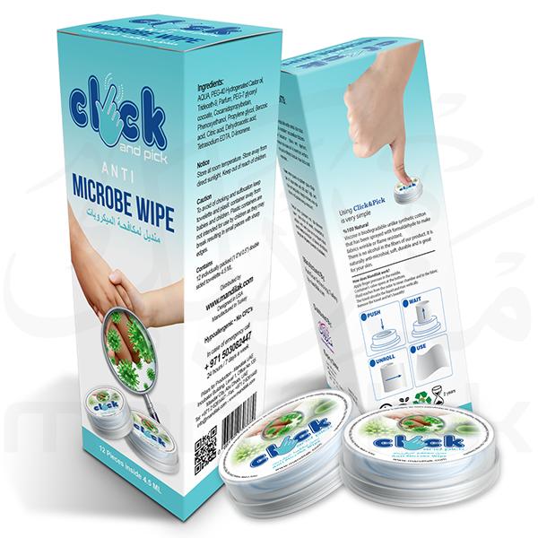 Anti Microbe Wipe2
